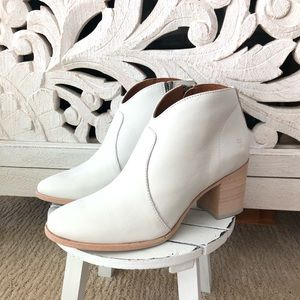 Frye Nora Zip Booties